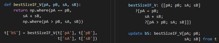 q v Python