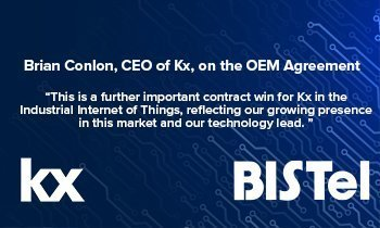 OEM agreement with South Korea's BISTel