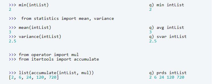 kdb+ and Python