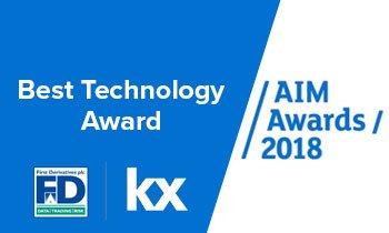 Best Technology Award - AIM Awards 2018