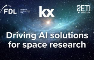Kx extends relationship with NASA Frontier Development Lab and the SETI Institute