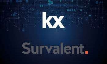 Kx selected by Survalent Technology for advanced sensor analytics