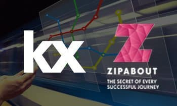 Kx selected by Zipabout to power intelligent transportation platform