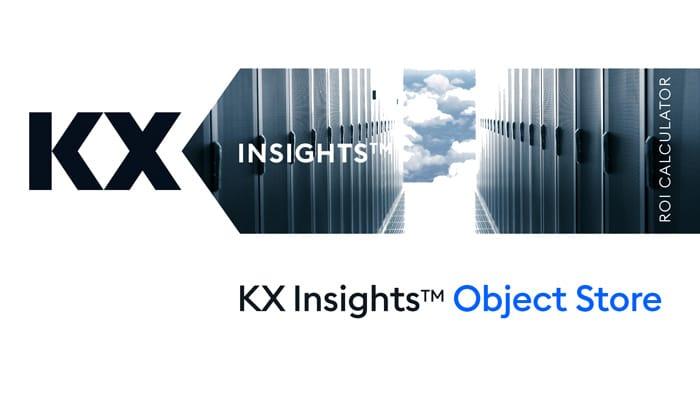 KX Insights Object Store